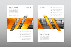 Brochure layout template flyer design vector, Magazine booklet cover abstract background. Poster leaflet Stock Image