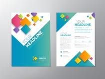 Brochure - Leaflet Design Royalty Free Stock Photography