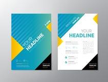 Brochure - Leaflet Design Royalty Free Stock Photo