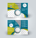 Brochure mock up design template Royalty Free Stock Photo