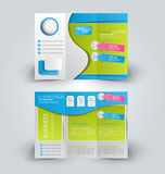 Brochure mock up design template Royalty Free Stock Photography