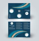 Brochure mock up design template Royalty Free Stock Image