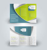 Brochure mock up design template Royalty Free Stock Photos