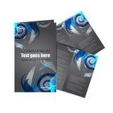 Brochure professionnelle d'affaires Photographie stock
