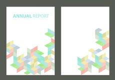 Brochure report Stock Photos