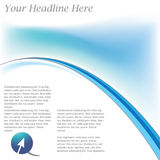 Brochure Template. Vector brochure template, layout,easy to re size or change color Stock Images