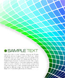Brochure template. An illustration of a modern brochure template Stock Photography