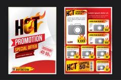 Brochure template Stock Photo