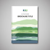 Brochure template Stock Image