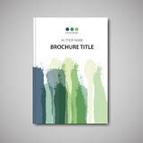 Brochure template Royalty Free Stock Photo