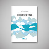 Brochure template Royalty Free Stock Photos