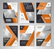 Brochure template design Royalty Free Stock Photography
