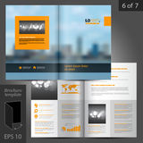 Brochure Template Design Royalty Free Stock Images
