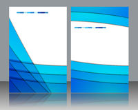 Brochure template design Stock Photography