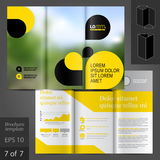Brochure Template Design Stock Photo