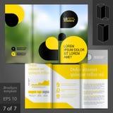 Brochure Template Design Stock Photo