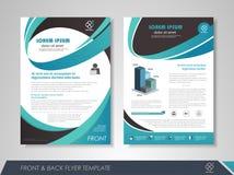Brochure template design Stock Photos