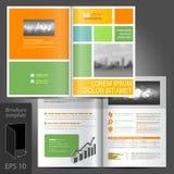 Brochure Template Design Royalty Free Stock Photo