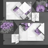 Brochure Template Design. Royalty Free Stock Image