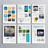 Brochure Template Design royalty free illustration