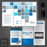 Brochure Template Design Stock Photography
