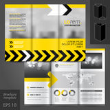 Brochure Template Design Royalty Free Stock Photo