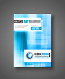 Brochure template, Flyer Design or Depliant Cover Stock Image