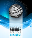 Brochure template, Flyer Design and Depliant Cover for business Stock Photography