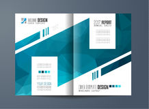 Brochure template, Flyer Design or Depliant Cover for business Stock Image