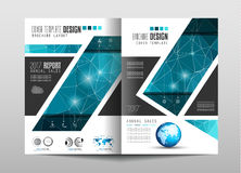 Brochure template, Flyer Design or Depliant Cover for business Stock Photo