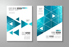 Brochure template, Flyer Design or Depliant Cover for business Stock Images