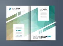 Brochure template, Flyer Design or Depliant Cover Stock Photos