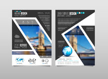 Brochure template, Flyer Design or Depliant Cover for business purposes. Stock Photography