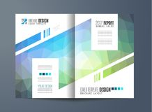 Brochure template, Flyer Design or Depliant Cover for business Stock Photography