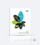 Brochure template layout collection, cover design annual report, Stock Images