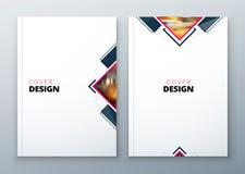 Brochure template layout design. Corporate business annual report, catalog, magazine, flyer mockup. Creative modern Stock Photos