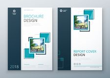Brochure template layout design. Corporate business annual report, catalog, magazine, flyer mockup. Creative modern. Brochure template layout design. Corporate Royalty Free Stock Images