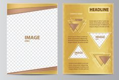 Brochure template Stock Images