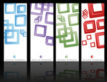 Brochure Template Set Royalty Free Stock Photography