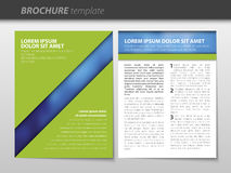 Brochure template Stock Photos