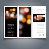 Brochure template Royalty Free Stock Images