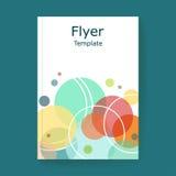 Brochure vector template royalty free illustration