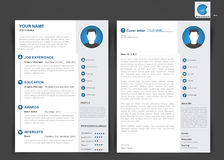 Brochure of vliegerontwerp met lusjes voor foto's, desi van de lay-outdekking vector illustratie