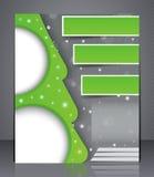Brochureontwerp Stock Foto