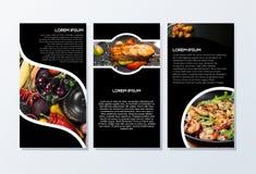 Brochureontwerp klaar te gebruiken royalty-vrije stock fotografie