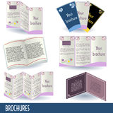 Brochures Images stock