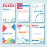 Brochures9 Arkivfoto