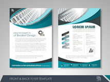 Brochures and flyers template design Stock Photography