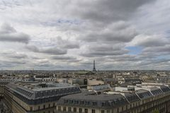 brocityscape över den paris seinen Royaltyfri Fotografi