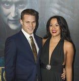 Brock Harrison und Courtney Reed Lizenzfreies Stockfoto